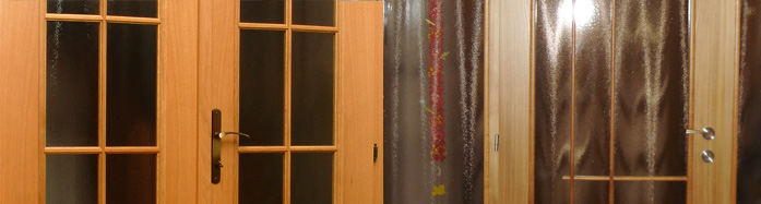 Zakázková výroba - interiérové dveře na míru